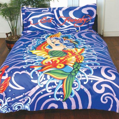 Ed Hardy Mermaid Duvet Set