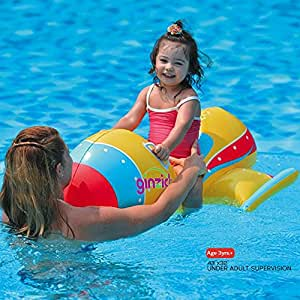 Buy ginzick kids swimming inflatable airplane pool float online at low prices in india for Inflatable swimming pool buy online india