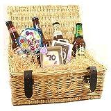 GIFTS2THEDOOR 70Th Birthday Beer Hamper