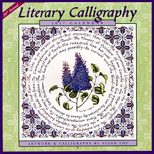 2017 Literary Calligraphy Calendar: 20th Annual