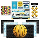 Scrapbook Customs Go Big Water Polo Themed Paper and Stickers Scrapbook Kit