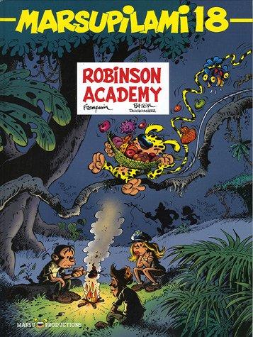 Marsupilami n° 18 Robinson academy