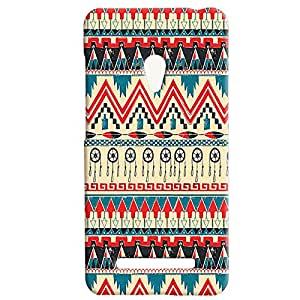 Theskinmantra Wheel,Arrow designs back cover for Asus Zenfone 5