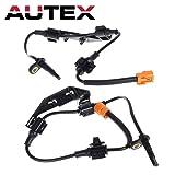 AUTEX ABS Wheel Speed Sensor Rear Right 57470S9A013 0844334 695886 57470-S9A-013 ALS1101 5S7631 compatible with 2002 2003 2004 2005 2006 Honda CRV CR-V
