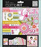 me & my BIG ideas 8-Inch by 8-Inch Scrapbook Page Kit, Girls So Sweet