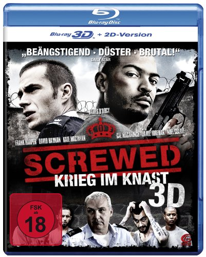 Screwed - Krieg im Knast [3D Blu-ray + 2D Version]