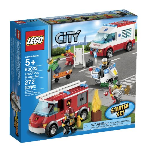 LEGO City Starter Toy Building Set