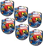 Marvel Mighty Beanz 4 Pack Ultimate Collection Gift Set of 24 Randome Marvel Mighty Beanz
