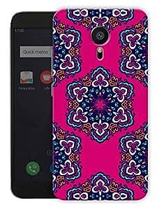"Humor Gang Indian Rangoli Ethnic Pattern Printed Designer Mobile Back Cover For ""Meizu Mx5"" (3D, Matte, Premium Quality Snap On Case)"
