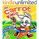 """THE CARROT RACE""(Bedtime story)values picture Book(Beginner Early Reader Early learning book)fantasy(Animal habitats)free story(prime)Rhymes-funny-humor-First ... (Animals stories kids books 6)"