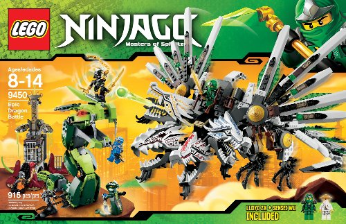 LEGO Ninjago 9450 Epic Dragon Battle Amazon.com