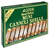 Alessi Mini Cannoli Shells, 4-Ounce Boxes (Pack of 12)