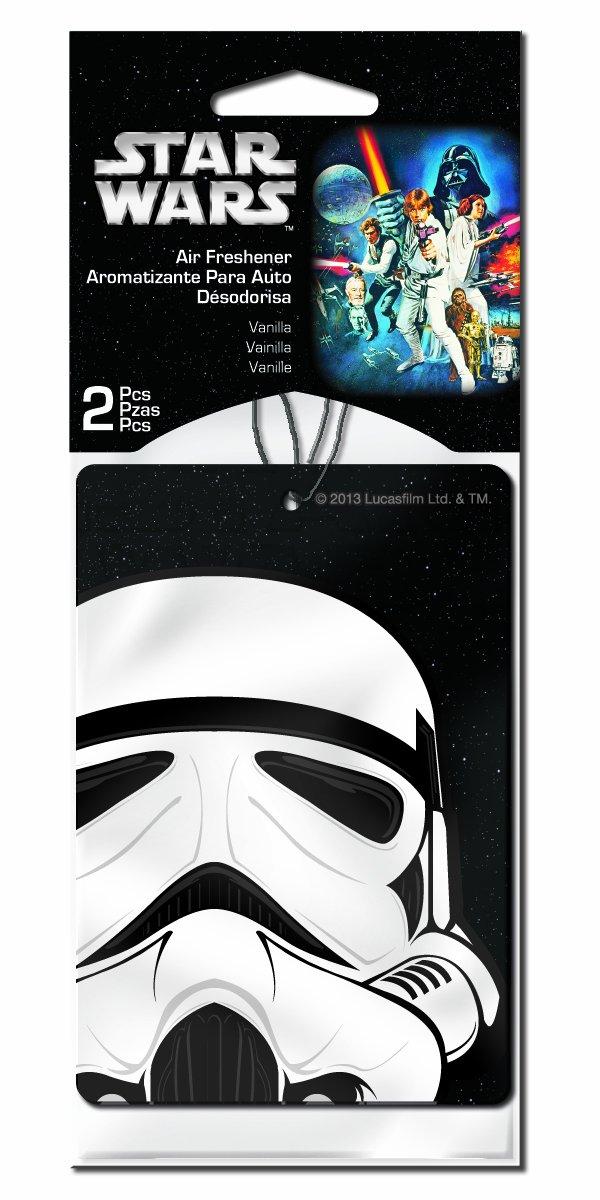 Plasticolor 005546R01 Star Wars 'Stormtrooper' Air Freshener, (Pack of 2)
