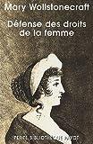 echange, troc Mary Wollstonecraft - Défense des droits de la femme
