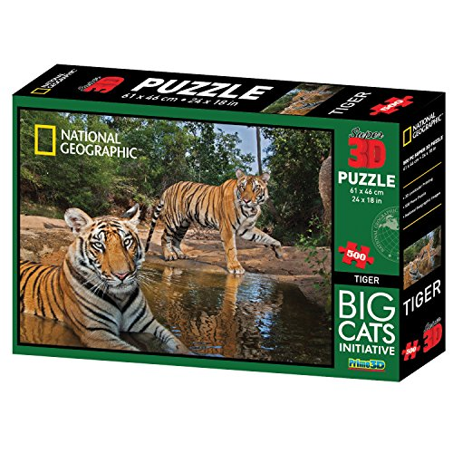 national-geographic-500-pezzi-3d-puzzle-jigsaw-big-cats-tigri-10023
