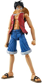 One Piece Bandai Figure Rise 1/8 Scale Master Grade Model Kit Monkey D. Luffy (japan import)