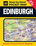 Aa Street by Street Pocket Map Edinburgh