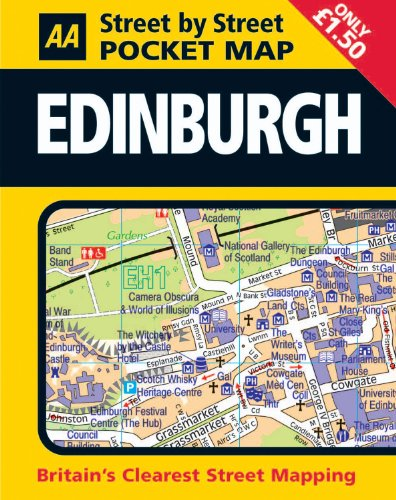 AA Street by Street: Pocket Map Edinburgh