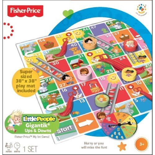 Fisher-Price Gigantik Ups and Downs Game