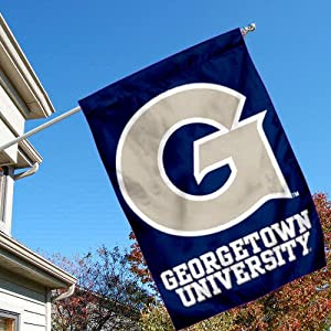 Buy Georgetown Hoyas GU University College House Flag by College Flags and Banners Co.
