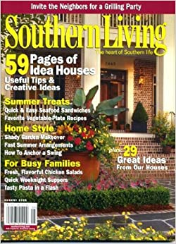 Southern living august 2006 59 pages of idea houses plus Southern living garden book