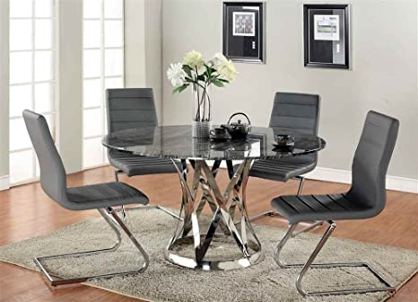 5-Pc Modern Dining Set