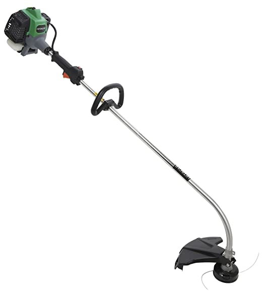 2. Hitachi CG22EABSLP 21.1cc 2 Stroke Gas Powered Curved Shaft Grass Trimmer (CARB Compliant)