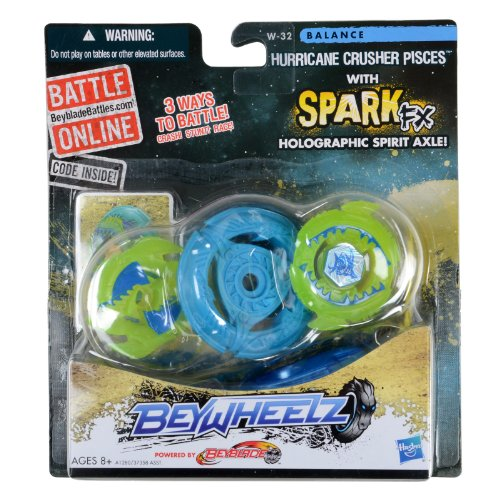 Beyblade Beywheelz W-32 Hurricane Crusher Pisces Battler