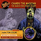 Chandu the Magician, Volume 1: The Search for Robert Regent | Gregory Mank