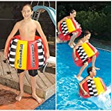 Inflatable 20-Inch Flotation Ring Big Splash Cannonball Swimming Pool Toy