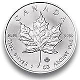 Silbermnze-Maple-Leaf-2016-einzeln-in-Mnzkapsel-verpackt-1-Unze-Silber-Neu-und-prgefrisch