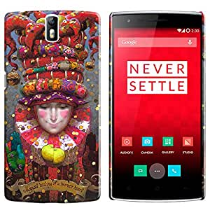 Theskinmantra Magical healing of broken hearts back cover for OnePlus 1