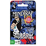 Outset Media Mind Trap Shadow Mysteries - The Ultimate Crime Mystery Card Game - Includes 54 Cards, Ages 12+ (Color: Other, Tamaño: One Size)