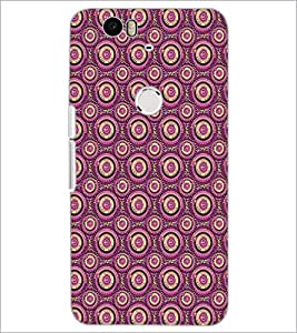 PrintDhaba Pattern D-5144 Back Case Cover for HUAWEI NEXUS 6P (Multi-Coloured)