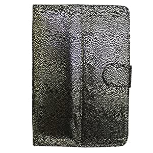 Jo Jo G5 Bling Flip Flap Case Cover Pouch Carry For Samsung P1010 Galaxy Tab Wi-Fi Silver Black