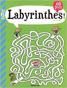 Amazon.fr - Mon Grand Livre de Jeux : Labyrinthes - Dès 6
