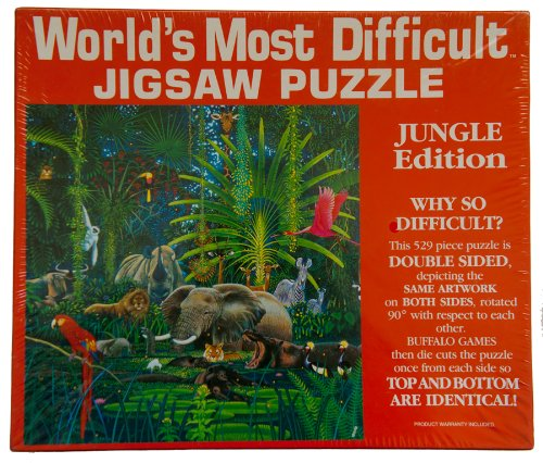 World's Most Difficult Jigsaw Puzzle - Jungle Edition