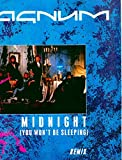 Magnum ~ Midnight (You Won't Be Sleeping) (Original 1986 Polydor Records 833 [UK Import] 12 Inch Vinyl Single [45 RPM Speed] NEW Factory Sealed in the Original Shrinkwrap ~ Features 3 Tracks ~ See Seller's Description For Track Listing)