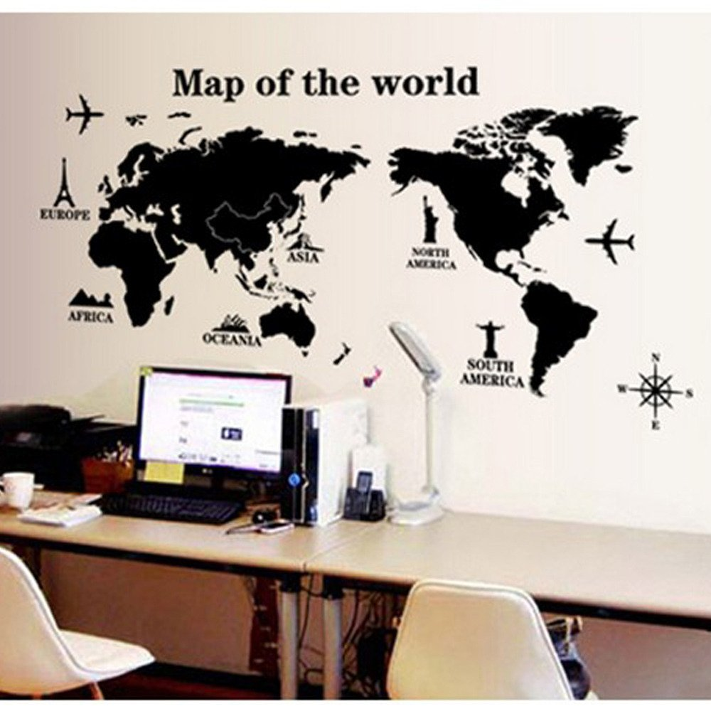 wall maps mapas para pared