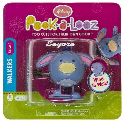 """Eeyore ~2.5"""" Mini-Figure Walker: Disney Pook-a-Looz Series #1"""