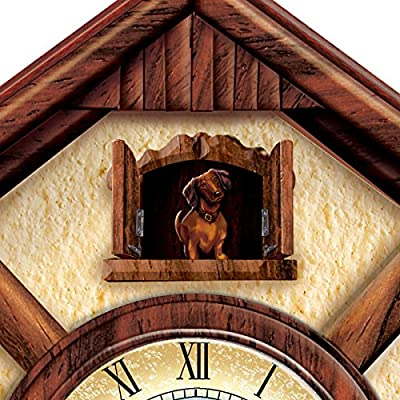 Cuckoo Clock: Playful Pups Choose Your Dog Breed Cuckoo Clock by The Bradford Exchange
