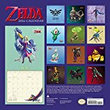 Nintendo: The Legend of Zelda 2016 Wall Calendar (Abrams Calendars)