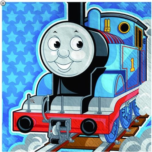 Thomas the Tank Engine Beverage Napkins 16ct