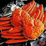 【ギフト対応】 最高級 天然ズワイガニ姿 特大サイズ 蟹味噌たっぷりの厳選された本ずわいがに 贈答用にも最適 【約600g×2尾】 ランキングお取り寄せ