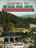 Scenery for Model Railroads, Dioramas, & Miniatures (080198503X) by Schleicher, Robert