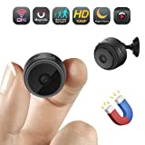 Lionsoul Mini Spy Camera, WiFi Portable Hidden SPY Cam HD 1080P Wireless IP Security Camera with Motion Detection/Night Vision for iPhone/Android Phone/iPad/PC (Color: hidden mini camera)