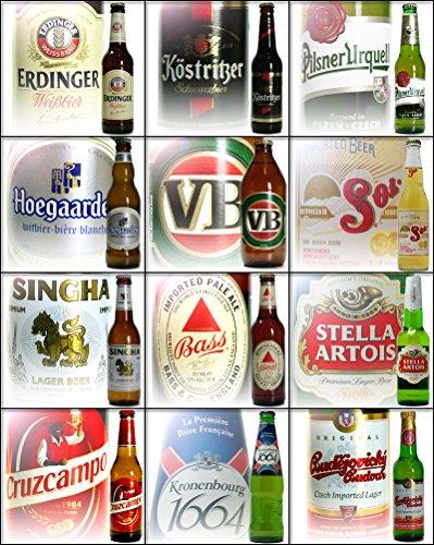 世界のビール 人気ランキング12本飲み比べセット