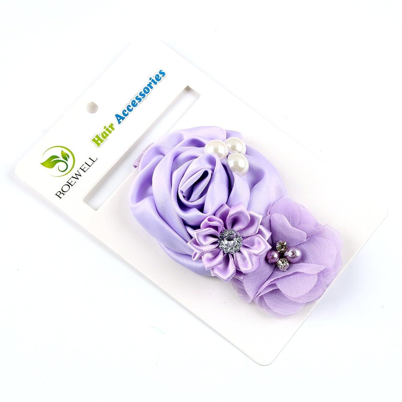 ROEWELL® Baby's Headbands /Girl's HeadBands/ Hair Bows Crystal Flower (5 Pack)