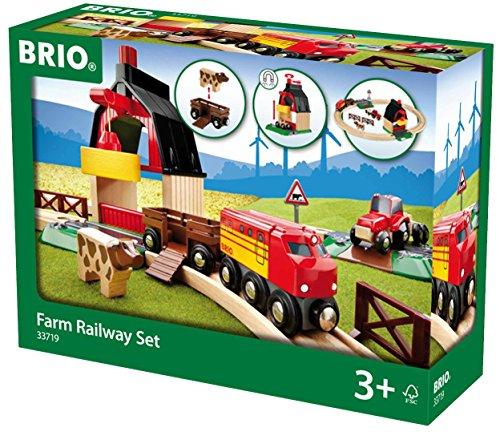 Brio - Set circuito de tren con granja (33719)