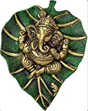 Ratna Handicrafts Green Ganesha Wall Hanging